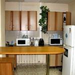 мини кухня-столовая