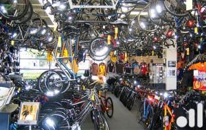 Велосалон, магазин по продаже велосипедов
